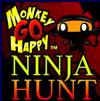 קוף עצוב שמח נינג'ה