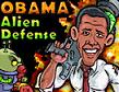 משחק יריות ופעולה מגניב עם נשיא ארצות הברית אובמה המטרה היא לנצח את החייזרים , לעבור שלבים ולהנות