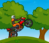 אופנוע בגבעה