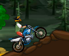 משחק אופנוע שטח בג'ונגל , טיפוס על גבעות והרים ועוד