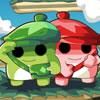 תאומים ירוק אדום