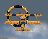 מטוס פעלולים בתלת מימד
