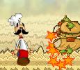 משחק חמוד בו מוצרי הפיצה תוקפים את פאפא לואי , החזירו להם חסלו אותם הביאו פיצות לסוף השלב ועוד
