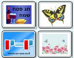 משחק לפסח , משחק זיכרון לפסח עם תמונות שקשורות לפסח , לחג האביב , מצות , פרפרים , יין , פרחים ועוד