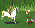 אתה עושה קבוצת לוחמים מעלה להם נקודות איפה שאתה רוצה: חרב,מגן,שריון... אתה הולך להרים קונה חפצים, נלחם ועוד...