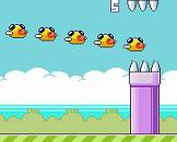 במקום ציפור אחת של פלאפי בירד עכשיו יש כמה ציפורים ברצף , כמה רחוק תצליחו לשמור על הציפורים ?