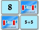 משחק זיכרון חיבור מספרים , משחק למידה כיף