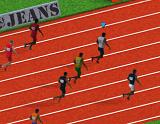 100 meter race game