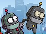 משחק רובוטים מגניב , משחק זריזות ומיומנות ביחד  , כל לחצן מזיז רובוט אחר וביחד אתם צריכים לעבור כמה שיותר שלבים , קשה לשחק לבד (אפשר לשחק עם חבר )