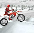 Мотокрос на снегу