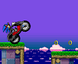 סוניק על אופנוע