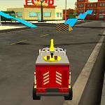 סימולטור מכוניות צעצוע
