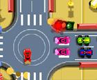 משחק שליטה ברמזורים , הפעם עם צעצועים מגניבים , בואו לבצע בקרת צעצועים ולעשות שליטה בתנועה ככה שהמכוניות לא יתנגשו