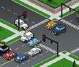 משחק שליטה בתנועה עם רמזורים
