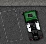 חניה עם משאית