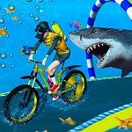 אופניים מתחת למים