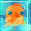 בואו להפשיר את הציפור במשחק החדש בסדרה , תפשירו את הציפור בקוביית הקרח עם המים , משחק חשיבה מגניב תובילו את המים אל הציפור
