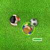 משחק כדורגל חמוד ביותר , זזים עם הצדדים אבל יש טריק , לאן שלוחצים רצוף מתקדמים לכיוון אז קצת קשה
