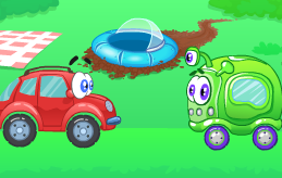 משחק וילי גירסא 8 , משחק חדש של המכונית וילי , הפעם וילי מתמודד עם חייזרים שהגיעו מהחלל החיצון , עזרו לו לעבור שלבים ומשימות בעזרת החשיבה