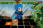 משחק זיכרון שאתם משתתפים בקרב תוך כדי , אם לקחתם את הקלפים הנכונים תוכלו לבצע מכות ולנצח בקרב