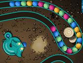 serpent marbles - snake zuma