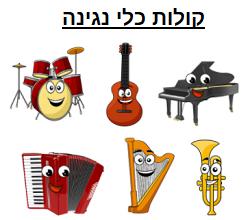 קולות כלי מוזיקה
