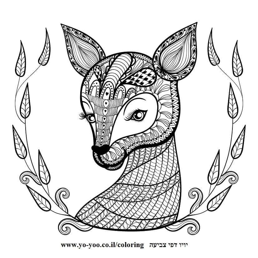 Ausmalbilder Kinder Fuchs: 20 Awesome Ausmalbilder Mandala Fuchs
