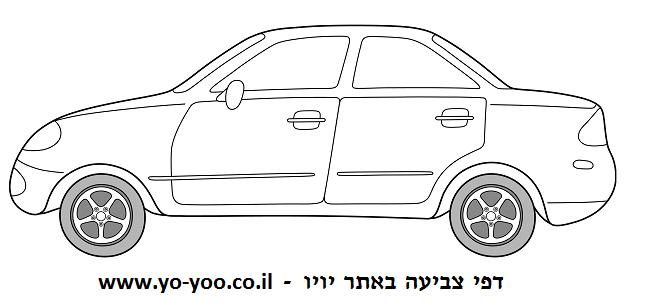 צביעת מכונית מהצד