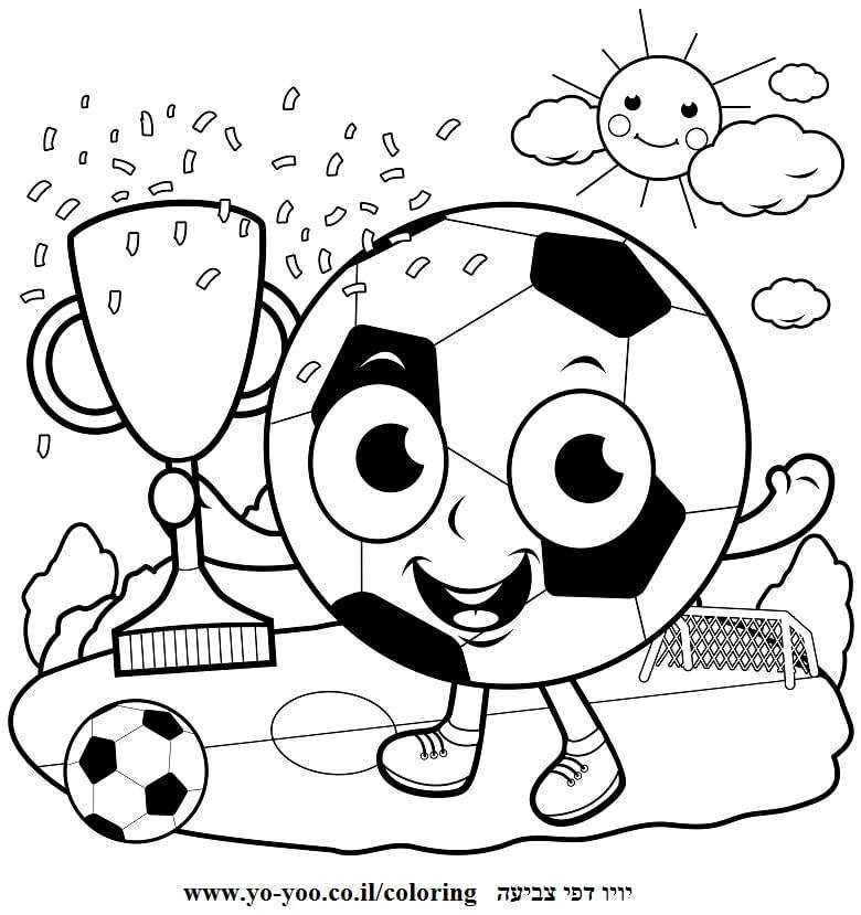כדורגל לצביעה
