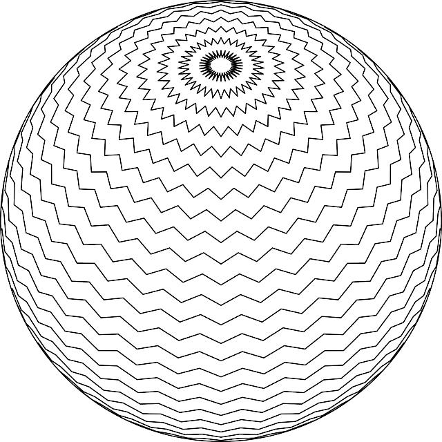 כדור שחור לבן