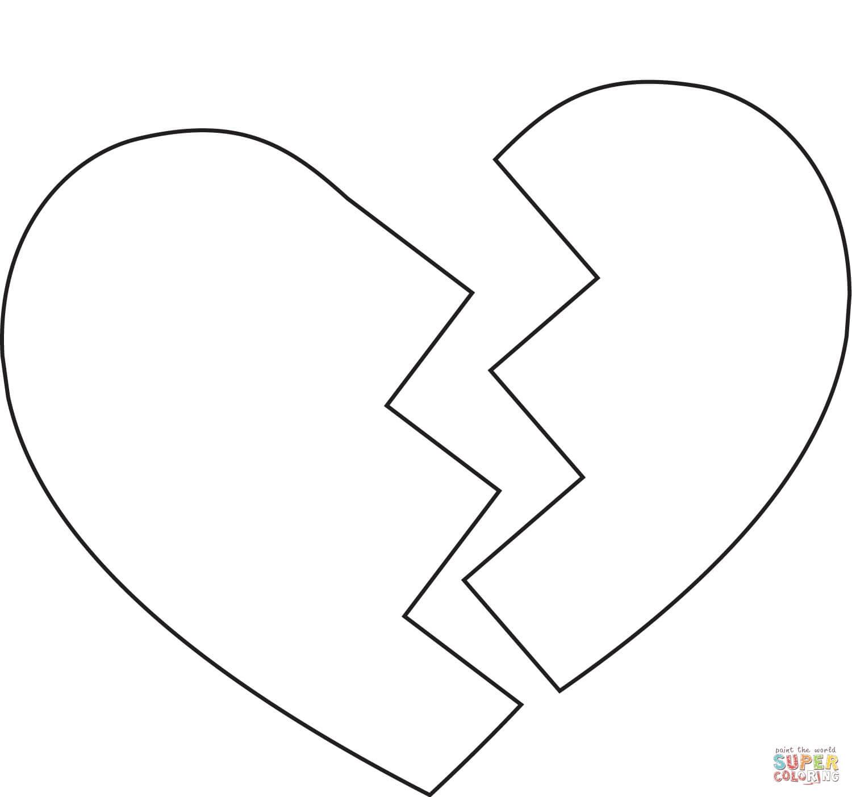 לב שבור לצביעה