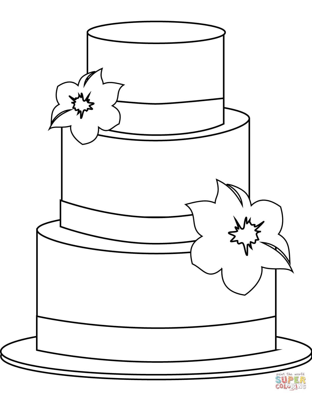 עוגת קומות לצביעה
