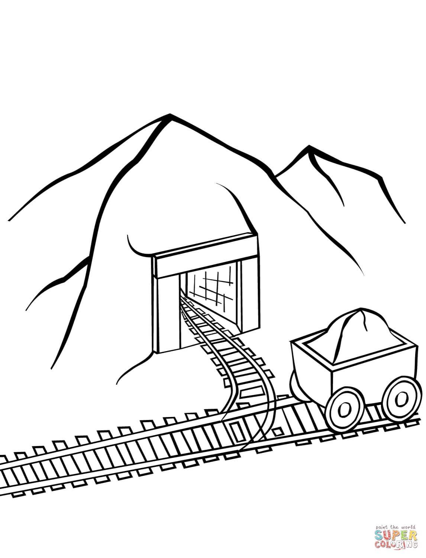 מכרה פחם לצביעה
