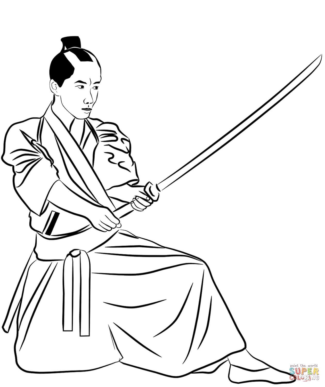 סמוראי לצביעה