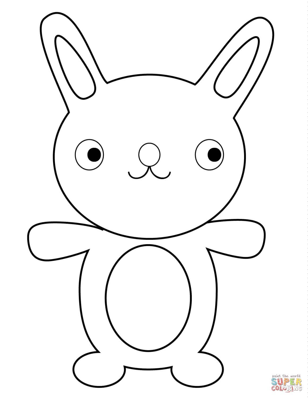 ארנב חמוד לצביעה