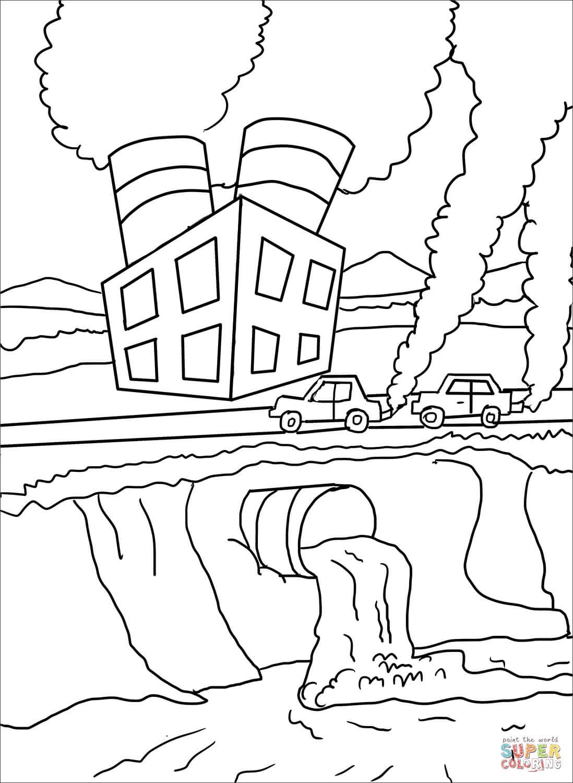 זיהום הסביבה לצביעה
