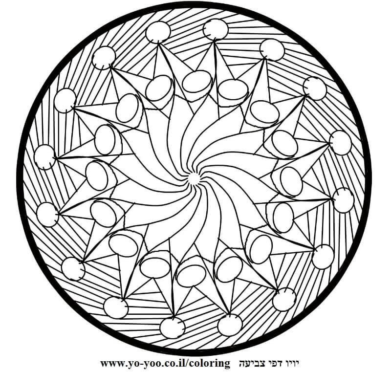עיגול ספירלה