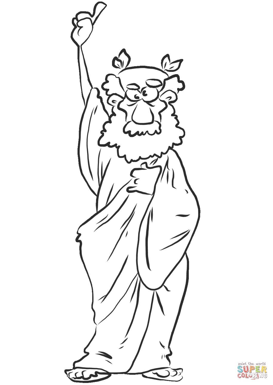יווני זקן לצביעה