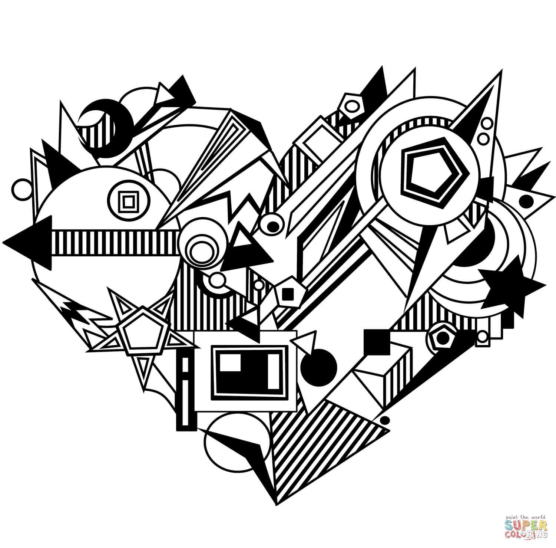 לב מיוחד לצביעה
