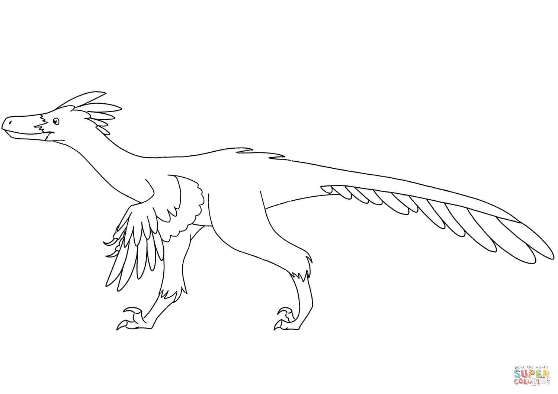 דינוזאור לצביעה