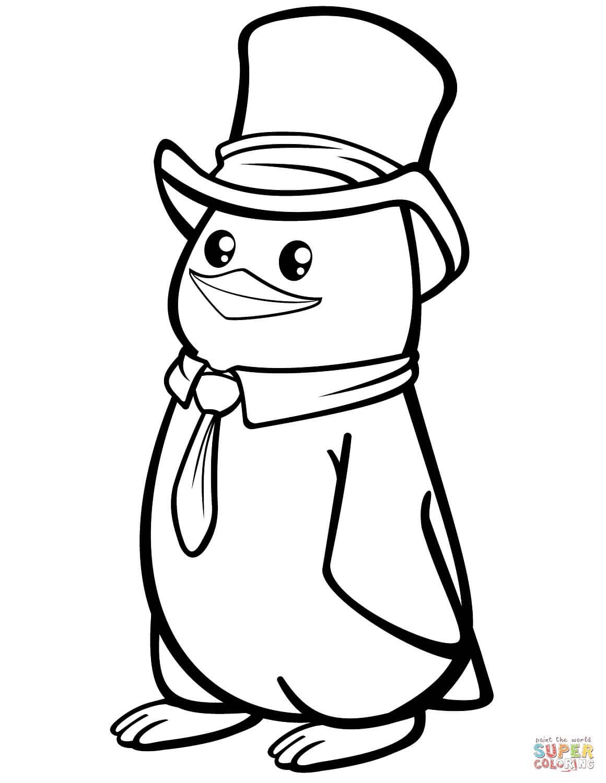 פינגווין לצביעה
