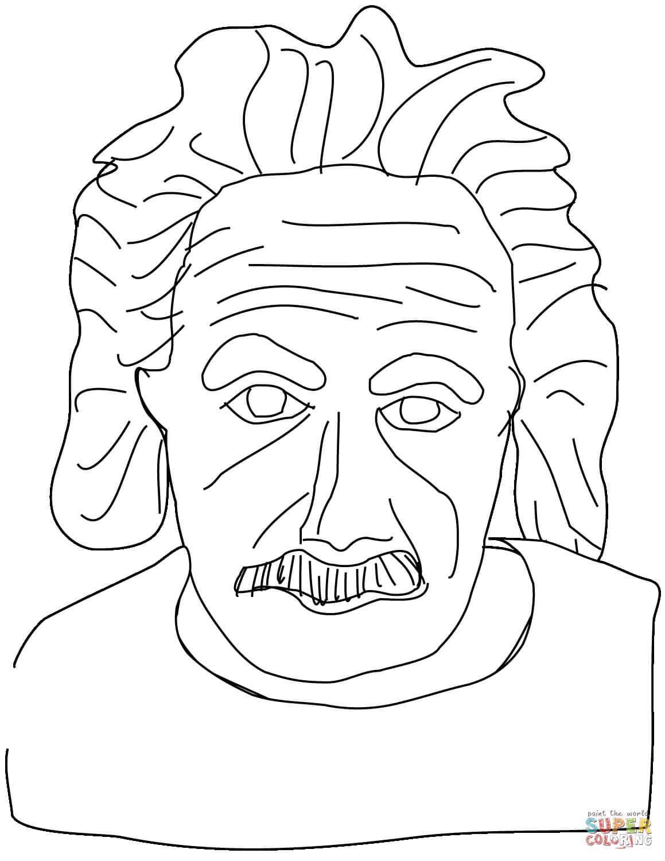 אלברט איינשטיין לצביעה