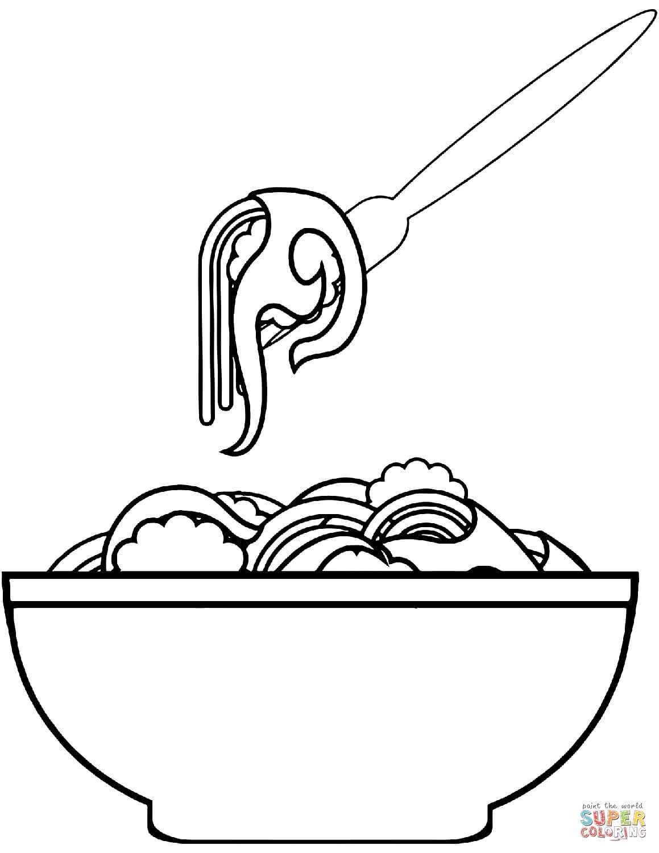 ספגטי לצביעה