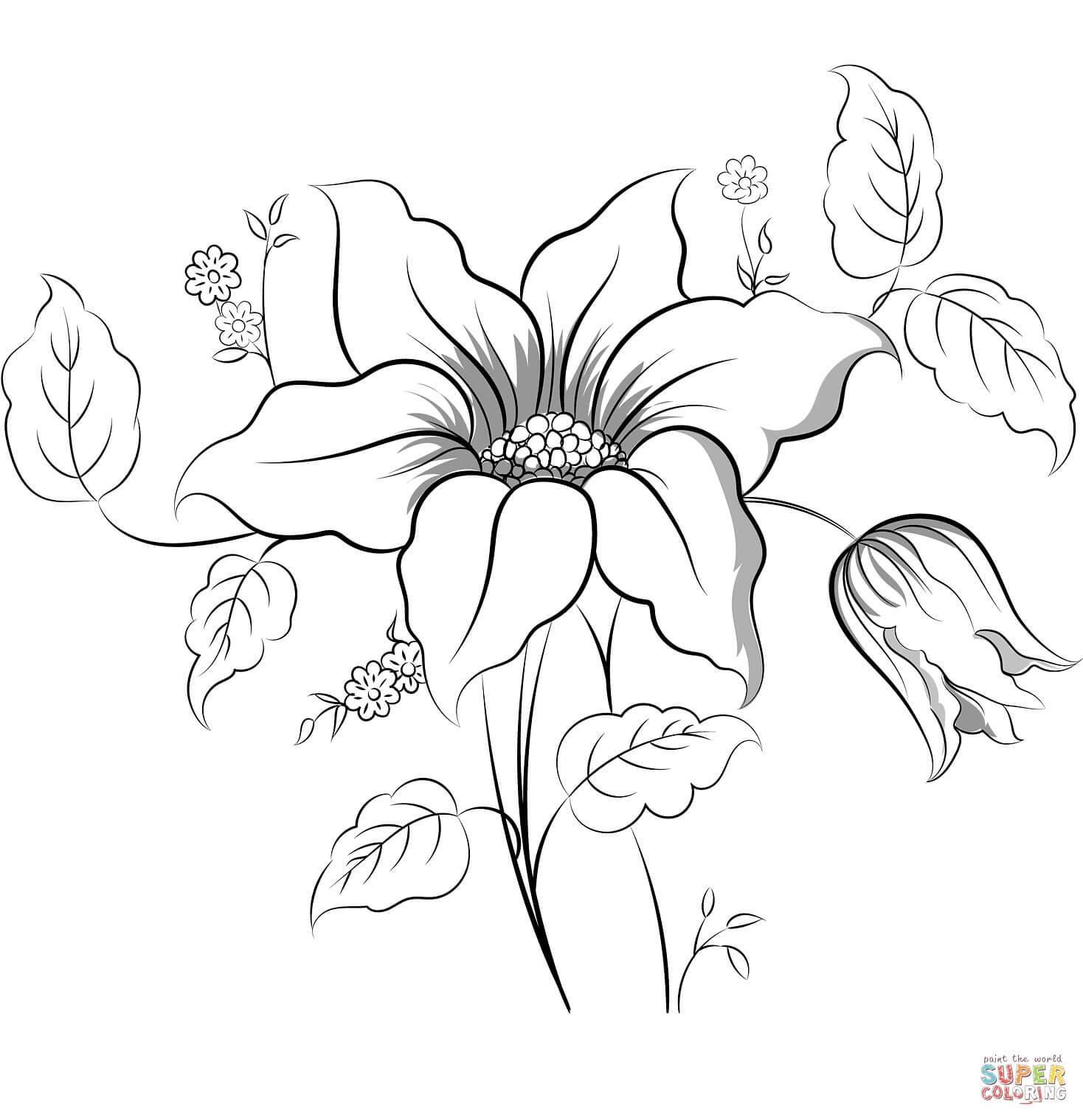 פרח לצביעה
