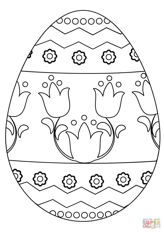 ביצה מקושטת לצביעה