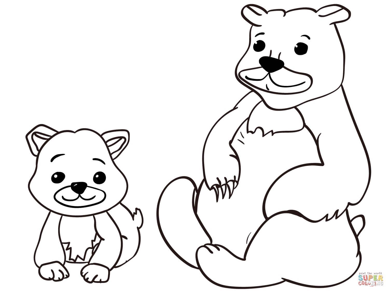 משפחת דובים לצביעה