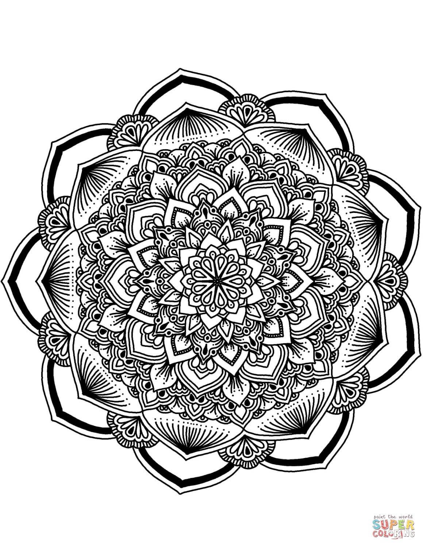 פרח מנדלה לצביעה