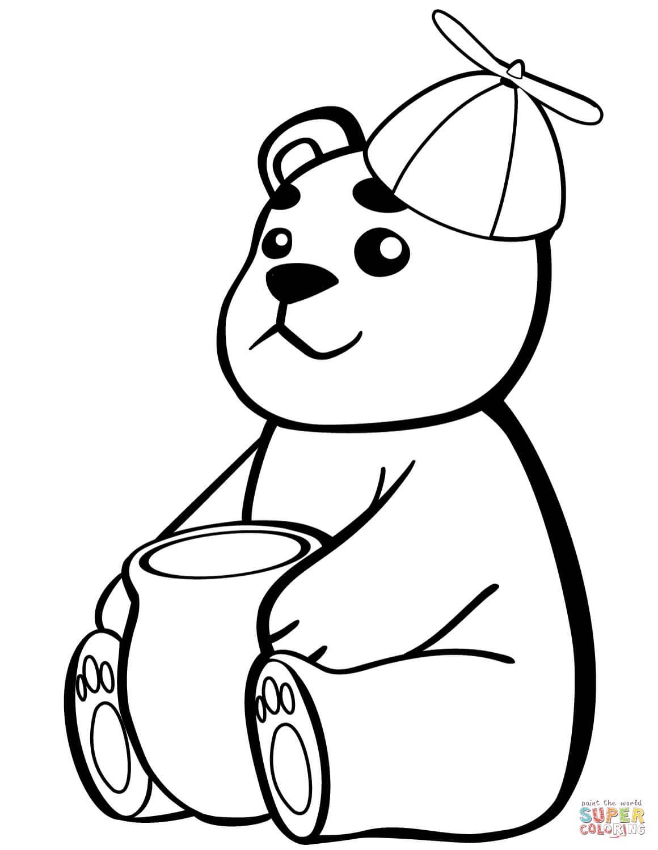 דובי עם דבש  לצביעה