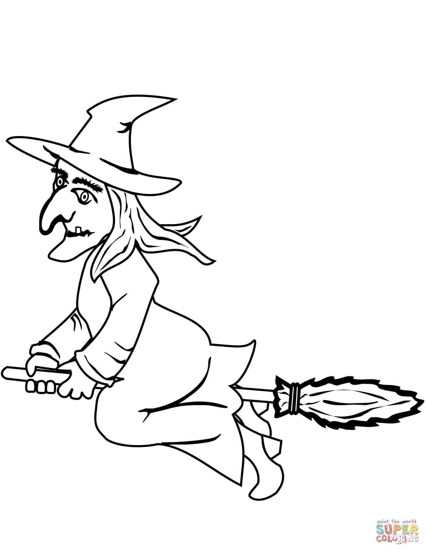 מכשפה לצביעה