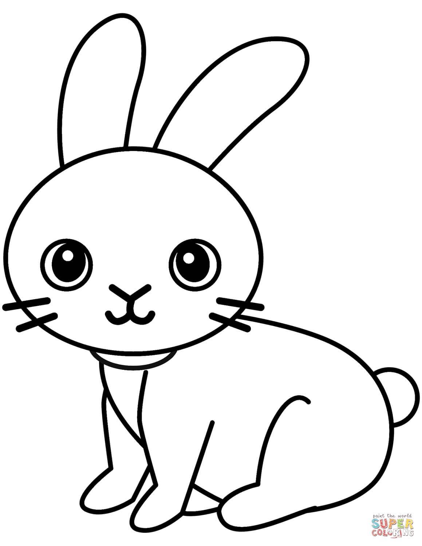 ארנבון חמוד לצביעה